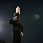 pacific-crest-drum-major-on-podium